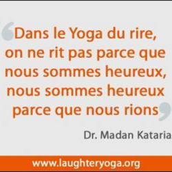 Pourquoi le Yoga du rire rend heureux ?