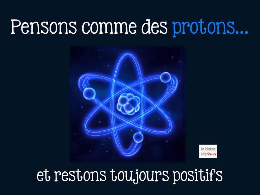 Protons et Pensées