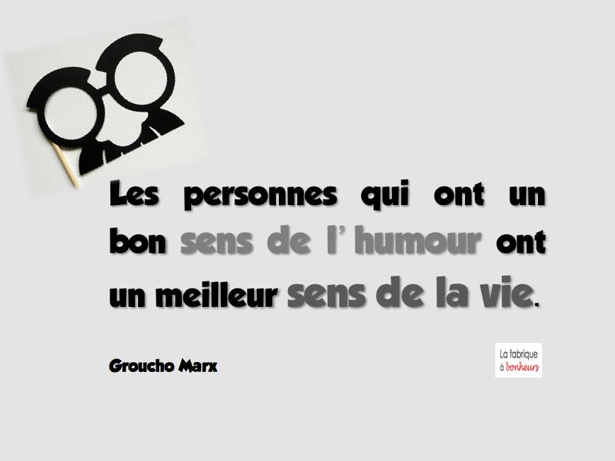 Sens de l'humour et sens de la vie - Groucho Marx