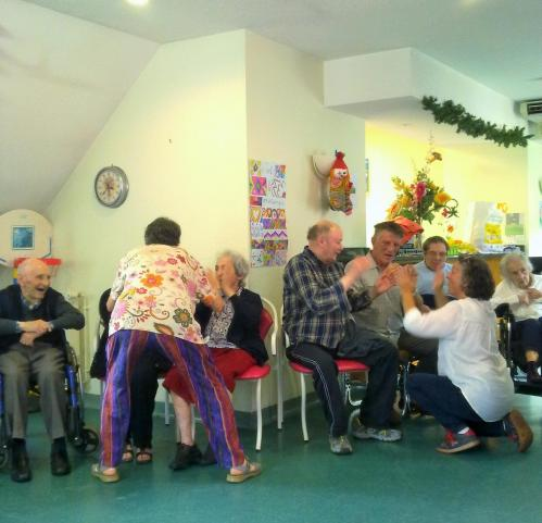 Laughter Yoga with elders