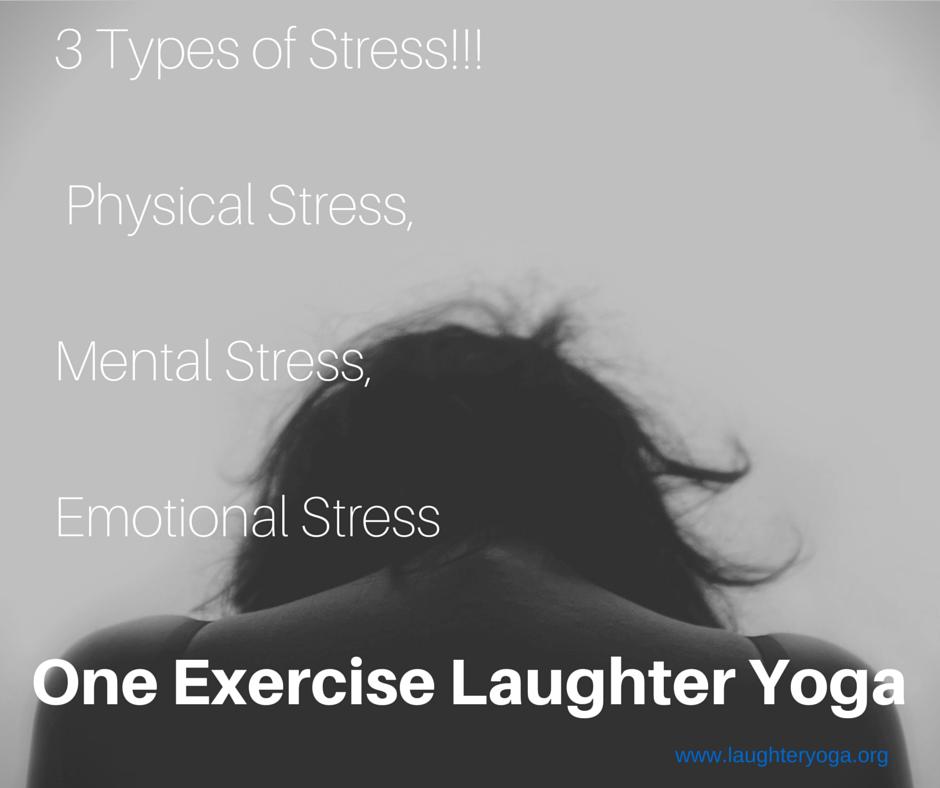 3 types de stress