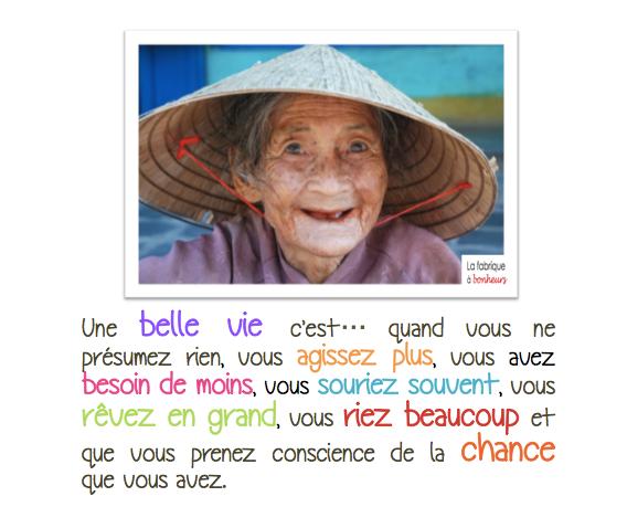Belle vie : définition