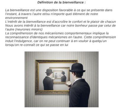 Bienveillance definition