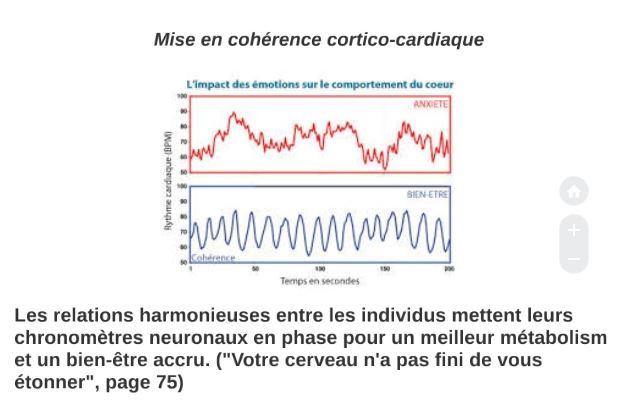 Bienveillance et mise en coherence cortico cardiaque