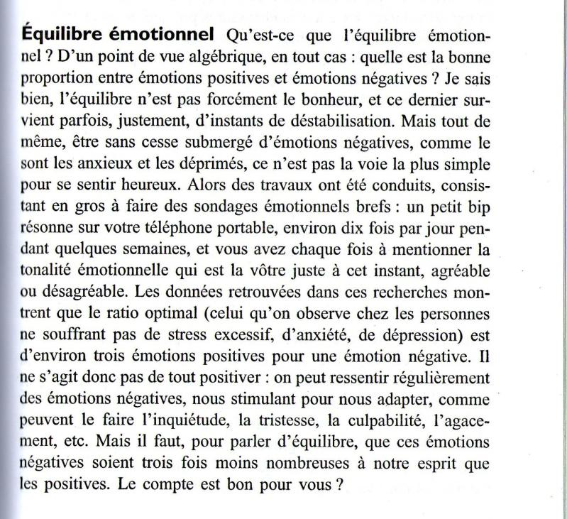 Equilibre emotionnel c andre