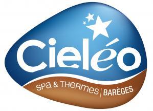 Logo cieleo bicolore 2015 spa et thermes avec contour