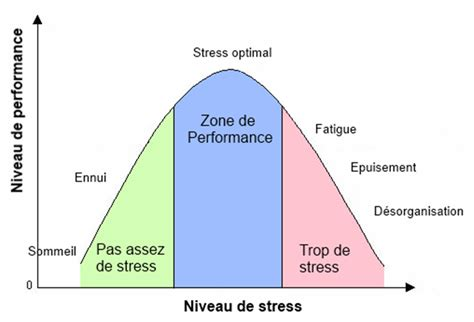 Niveau de stress et performance