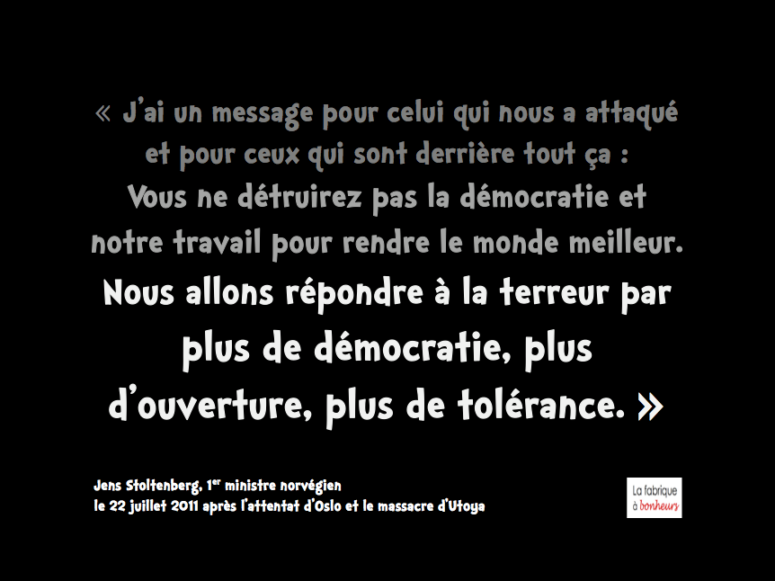 Tolerance contre integrisme