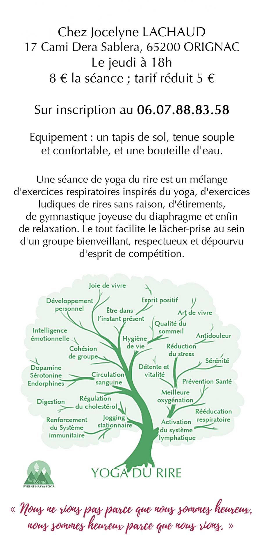 Yoga du Rire @ Originac