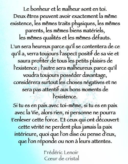 Bonheur & Malheur