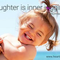 Le rire est un jogging intéRieur